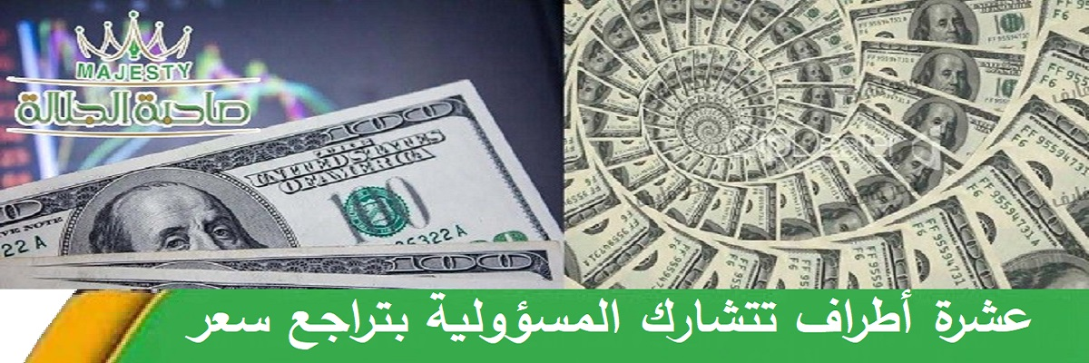 عشرة أطراف تتشارك المسؤولية بتراجع سعر الصرف