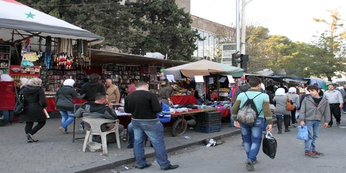 تنظيم 48402 ضبط لإشغالات الأرصفة في محافظة دمشق