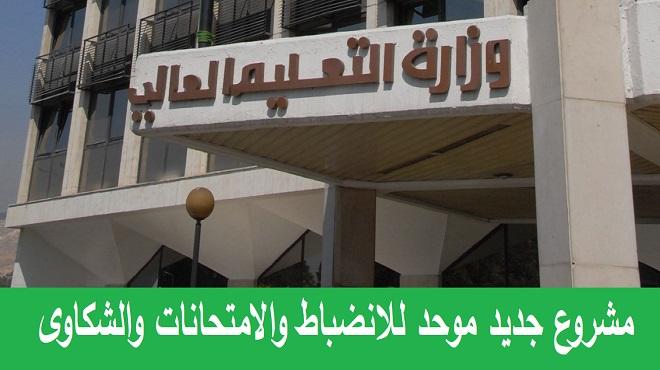 هيكلية جديدة لتنظيم عمل وزارة التعليم العالي ومجلسها