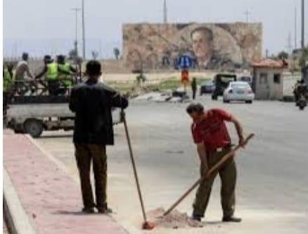 محافظة دمشق: تأهيل وصيانة الإنارة لمدخل المدينة الشمالي