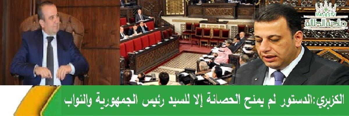 مخلوف يطالب بتوسيع حصانة أعضاء المجالس المحلية