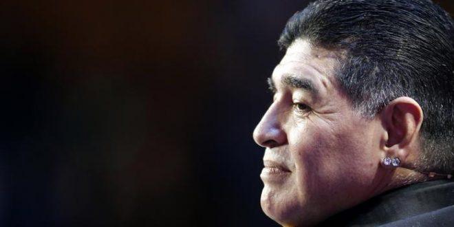 مارادونا يوجه رسالة مؤثرة للإيطاليين