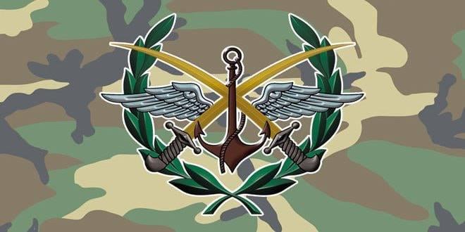 القيادة العامة للجيش تتخذ إجراءات وتدابير احترازية لمنع انتشار فيروس كورونا حرصاً على السلامة الشخصية للمقاتلين