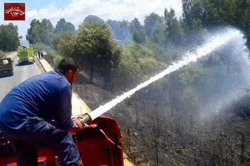 عمال مراكز إطفاء الحرائق يطالبون بجدول مناوبات
