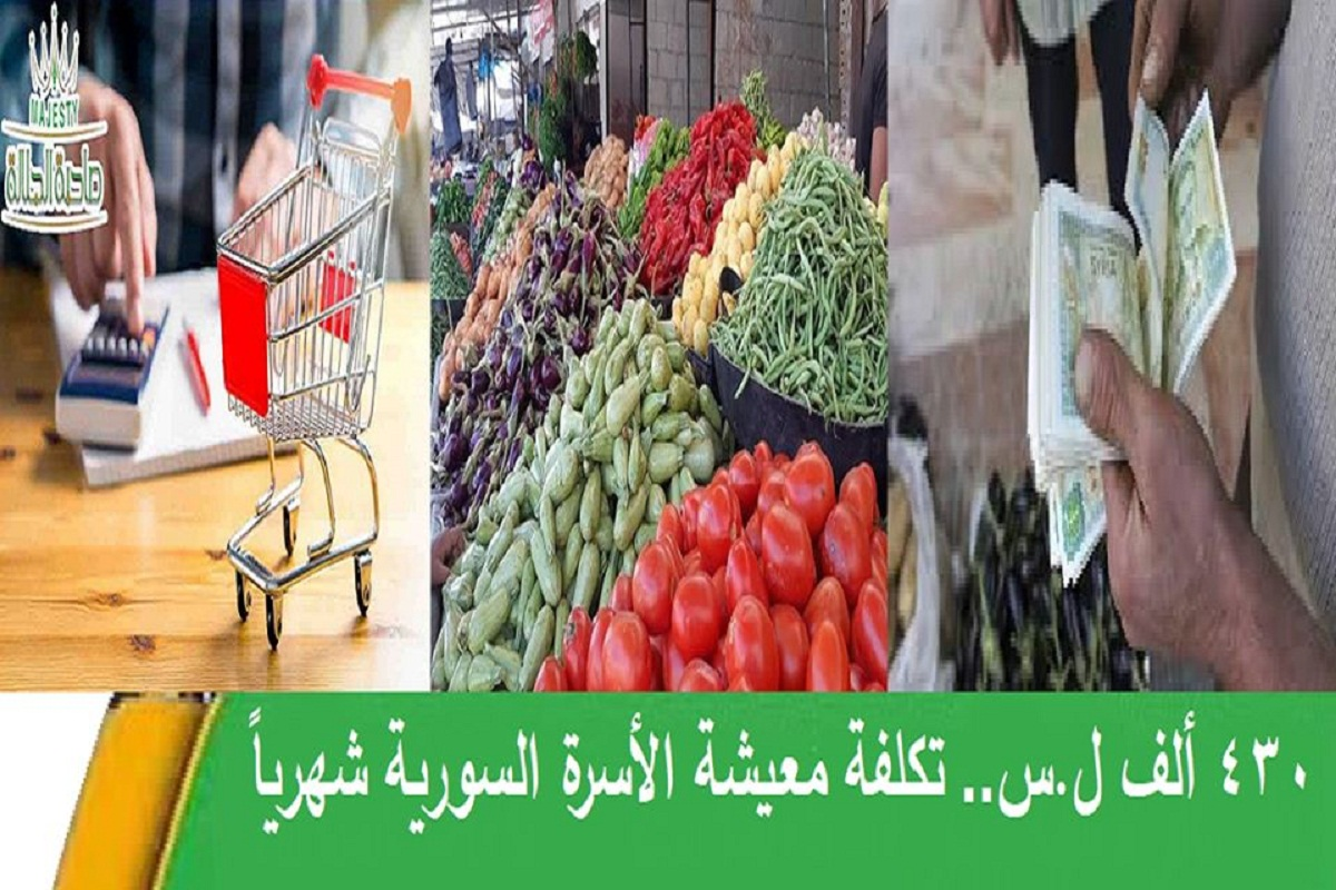 أسعار الخضار والغذاء ترفع تكاليف المعيشة