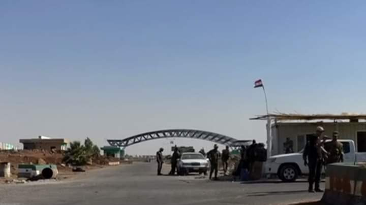 """لا شاحنات عراقية تدخل سوريا عبر معبر البوكمال بسبب """"كو ر ونا"""""""