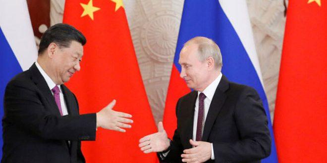 روسيا والصين: تأكيد على تعزيز التعاون لمكافحة فيروس كورونا