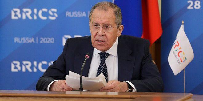 لافروف يبحث مع ماورير تقديم مساعدات إنسانية لسورية وجنوب شرق أوكرانيا