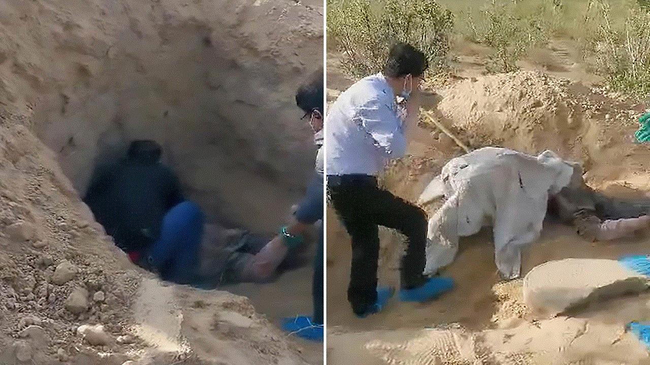 دفن أمه حيّة .. نجاة مسنة صينية بعد تركها 3 أيام في حفرة مهجورة