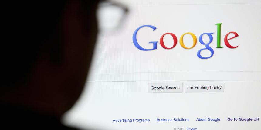 خلل في عمل محرك البحث Google
