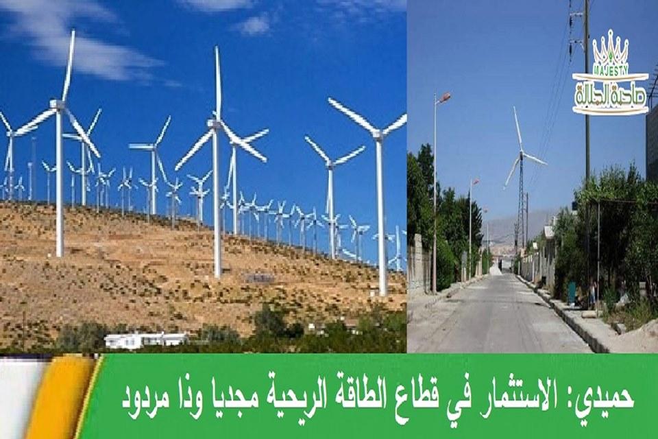 ينتج الطاقة الريحية ويؤمن كهرباء لمحافظة القنيطرة وجزء من ريف دمشق