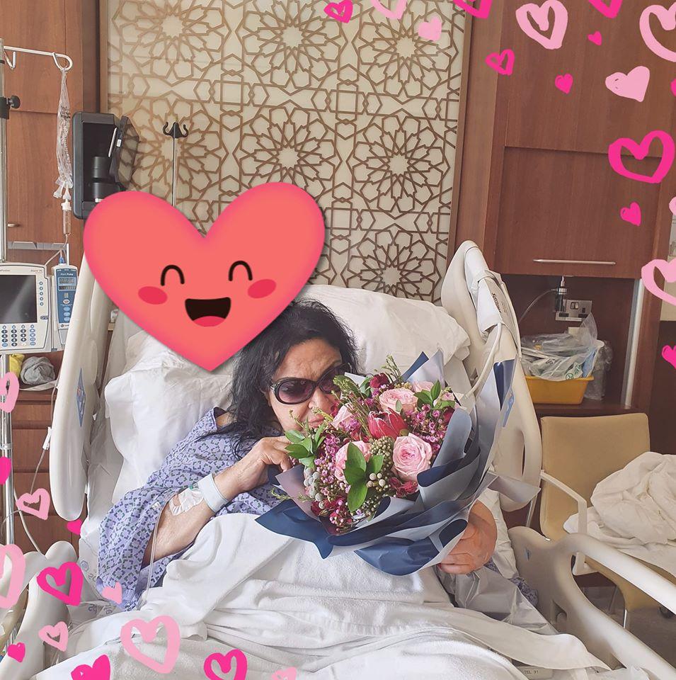 سميرة توفيق تجري عملية قسطرة في القلب