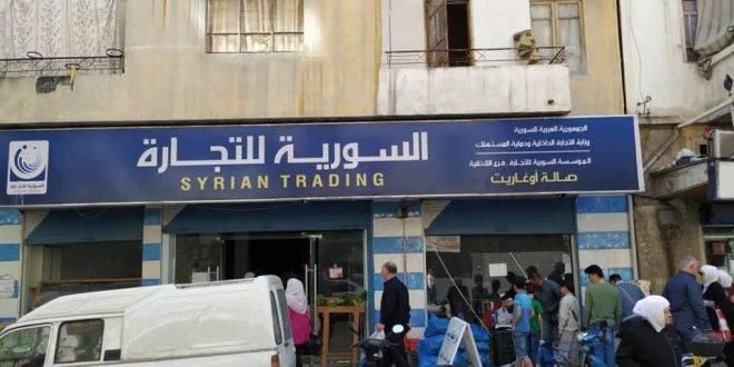 عمال عقود المقاولة لدى السورية للتجارة: لم نستفد من مرسوم زيادة الأجور.. والإدارة ترد: لا اعتمادات!