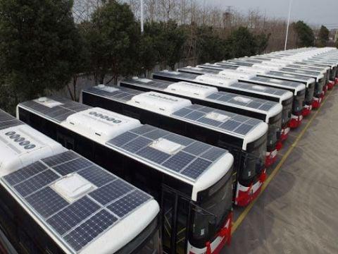 800 باص على الطاقة الكهربائية ستغطي ريف دمشق العام القادم