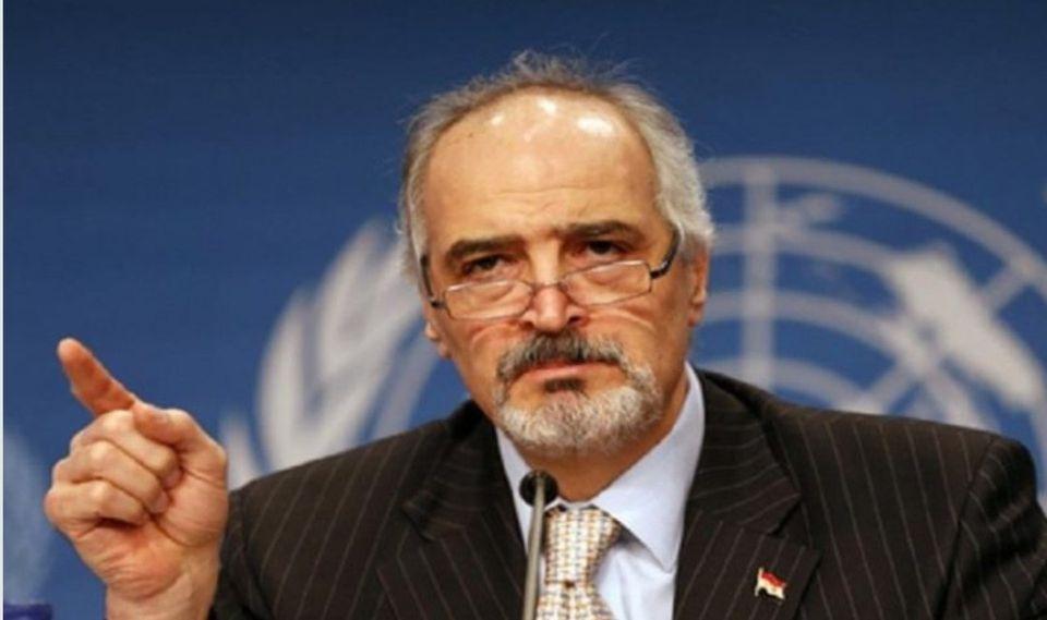 الجعفري يطالب مجلس الأمن بالتحرك العاجل لوقف الجريمة التركية
