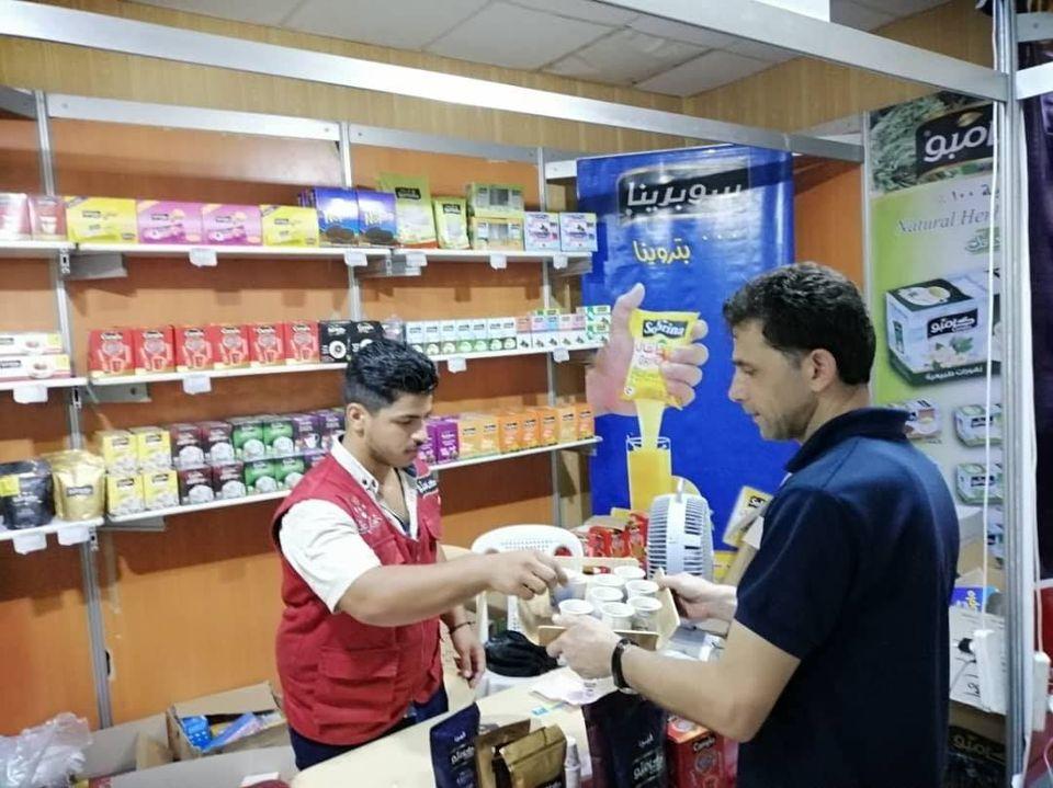 مهرجان التسوق الشهري صنع في سورية بدورته 102