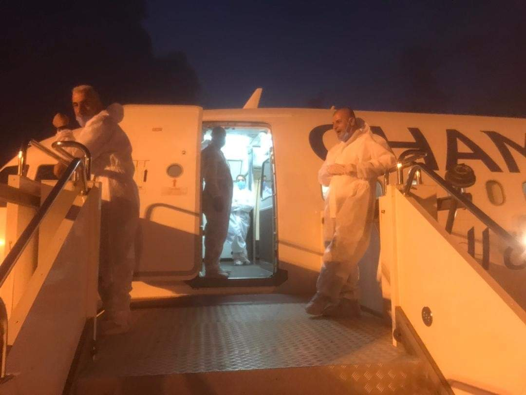 """""""أجنحة الشام للطيران تنفذ اليوم رحلةً لإجلاء الرعايا السوريين العالقين في مدينة بنغازي إلى أرض الوطن"""""""