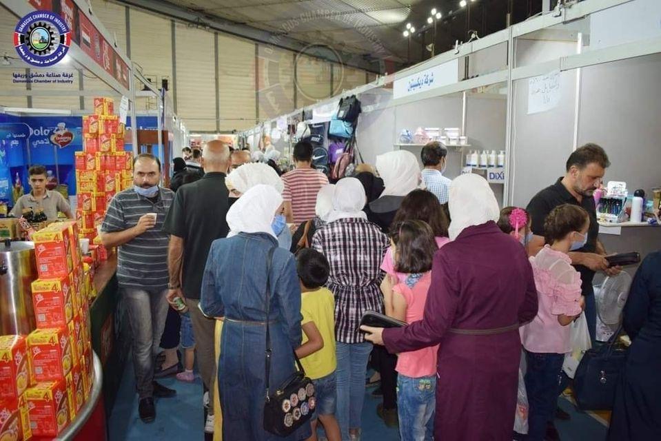 مهرجان التسوق الشهري صنع في سورية