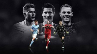 """""""يويفا"""" يعلن عن المرشحين لجائزة أفضل لاعب في أوروبا"""