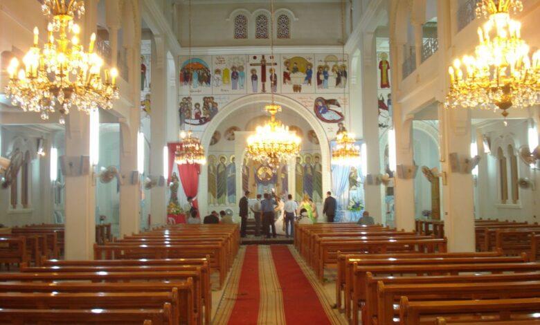 سارق كنيسة السيدة بريف حمص ..بقبضة العدالة
