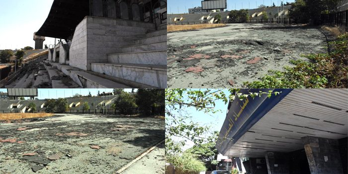 صيانة وتأهيل ملعب العباسيين في مطلع العام القادم بتكلفة تقدر بثلاثة مليارات ونصف المليار ليرة