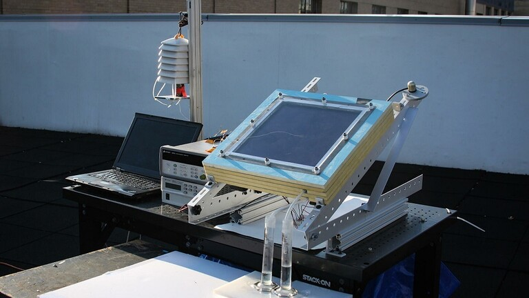 ابتكار جهاز للحصول على ماء الشرب من الهواء