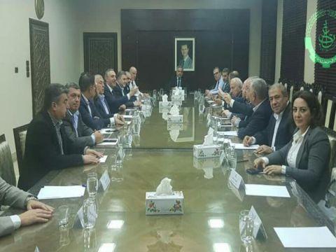توقيع مذكرة تفاهم بين وزارة المالية واتحاد غرف التجارة السورية تتعلق بالضرائب