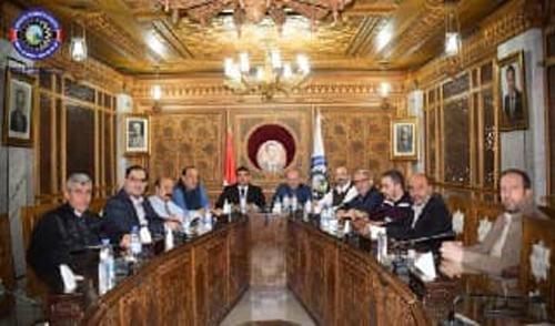 مد خط غاز ضمن مدينة دمشق وضواحيها يخدم منشآت السيراميك ويعالج مشكلة الكهرباء