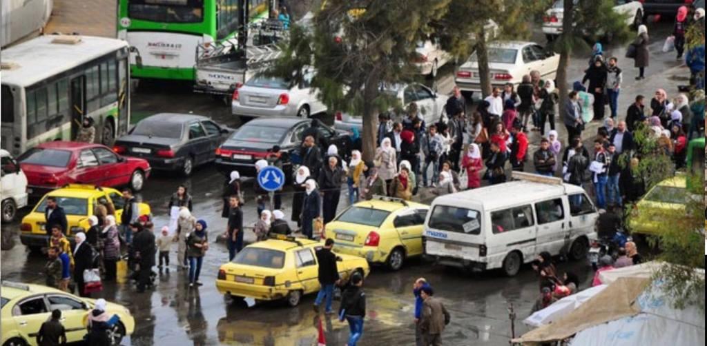 أزمة النقل مستمرة في دمشق.. والمحافظة: الـ(GPS) نهاية الشهر
