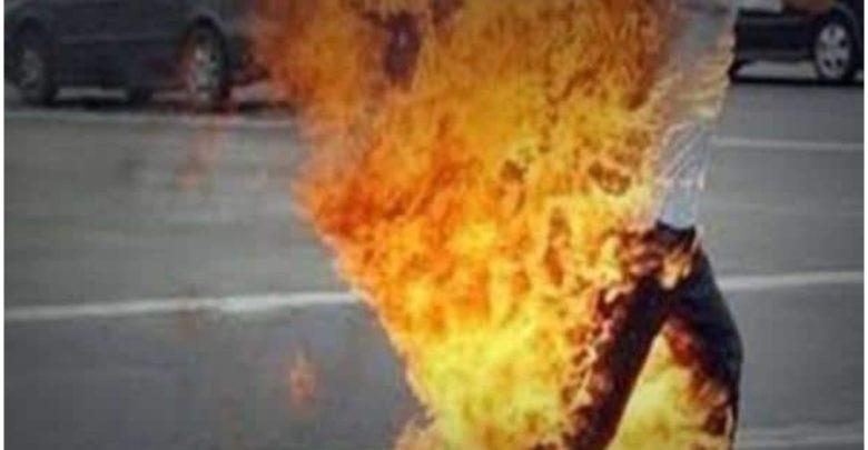 بسبب الفقر.. بائع خضار سوري يضرم النار بنفسه