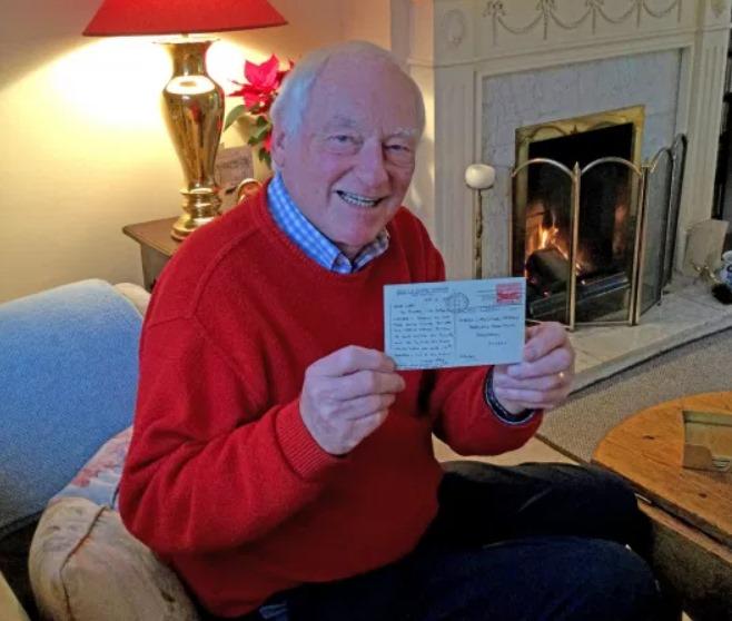 بريطاني يتلقى بطاقة بريدية بعد 66 عاماً على إرسالها