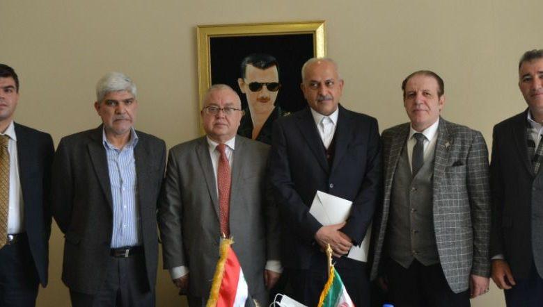 غرفة التجارة السورية الإيرانية المشتركة: دعم عمل مركز الأعمال الإيراني في المنطقة الحرة بدمشق