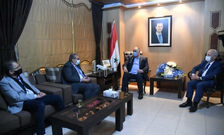 مباحثات سورية أردنية لتفعيل التعاون الاقتصادي وتنشيط التبادل التجاري بين البلدين