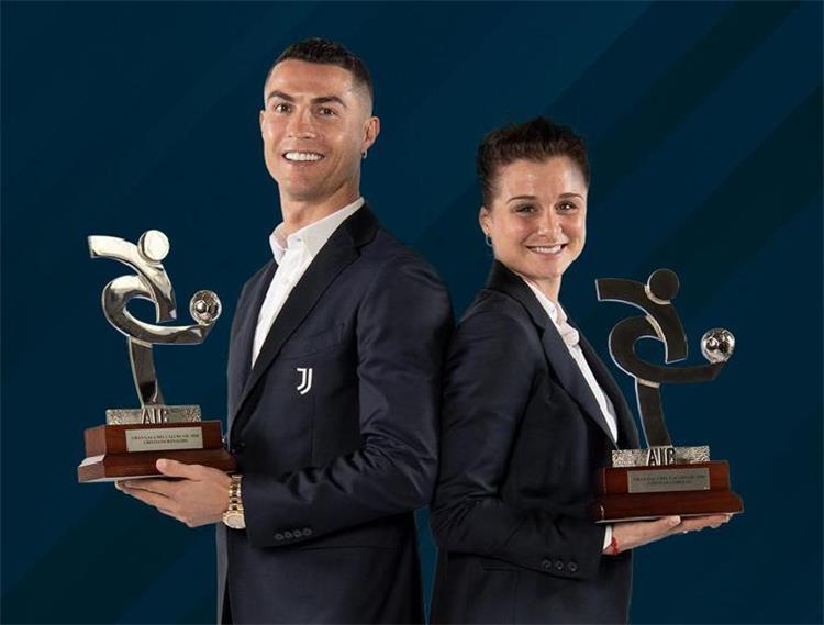 كريستيانو رونالدو الأفضل في موسم 2019-2020 للدوري الإيطالي