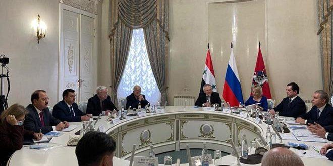 وفد طبي سوري يبحث في موسكو تبادل الخبرات مع الأطباء الروس