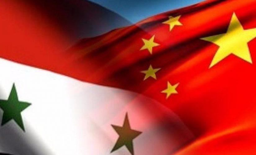السفارة السورية في الصين : المساعدات الطبية الصينية ستستمر وافاق اتفاقيات جديدة