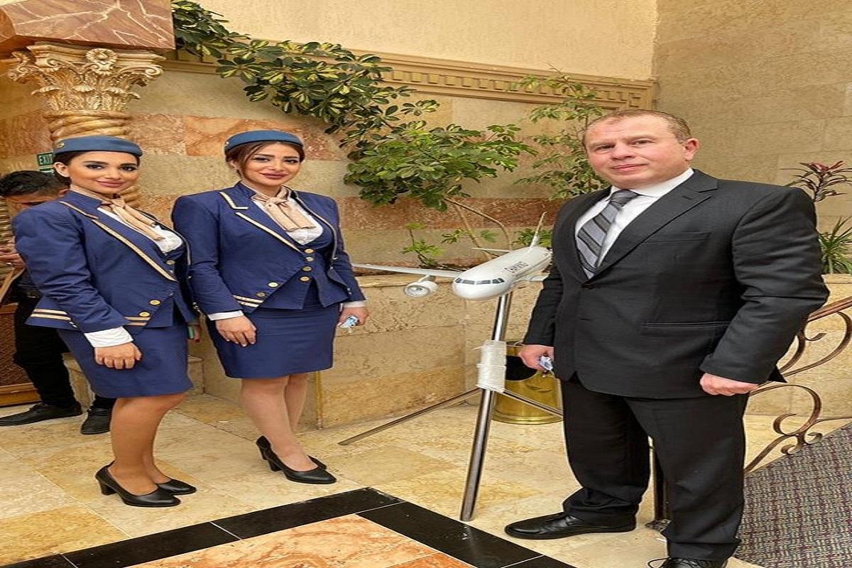 """أجنحة الشام للطيران الراعي الإستراتيجي لفعالية معرض سورية أم الكل الذي يقيمه مشروع """"أرتيزانا سورية"""" في فندق أفاميا الشام في محافظة حماة."""