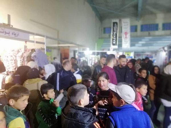 مهرجان التسوق الشهري #صنع_في_سورية بدورته ١١٦ في مدينة البنك