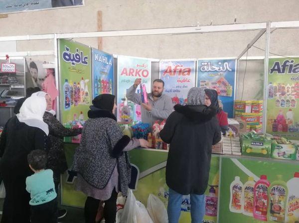 تمديد مهرجان صنع في سورية يوم إضافي