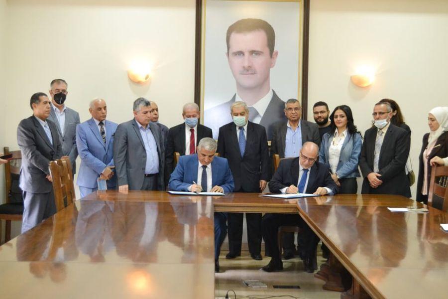 اكساد وجامعة دمشق..اتفاقية تعاون