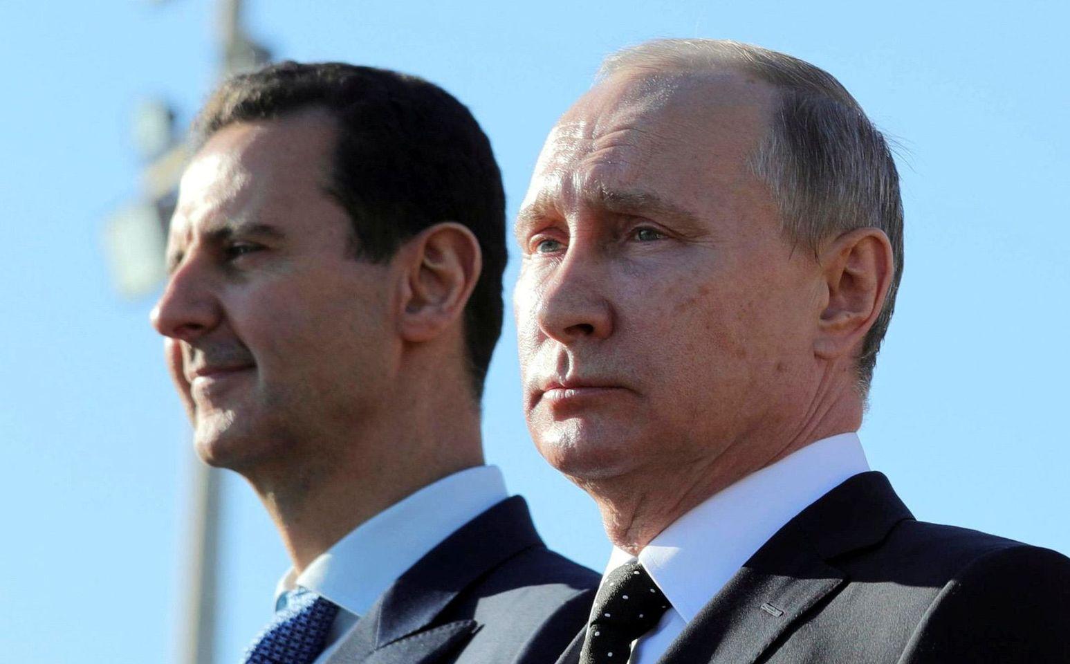 الرئيس الأسد يطلع بوتين على الاستعدادات للانتخابات الرئاسية المقرر إجراؤها في ايار القادم في سوريا