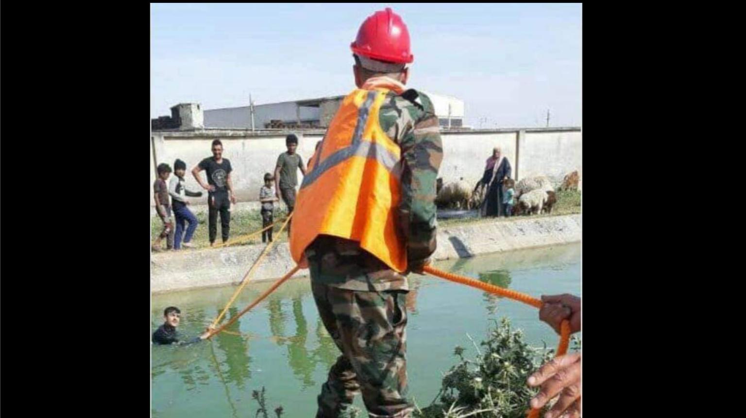 وفاة طفلين شقيقين غرقاً في ساقية بريف حمص