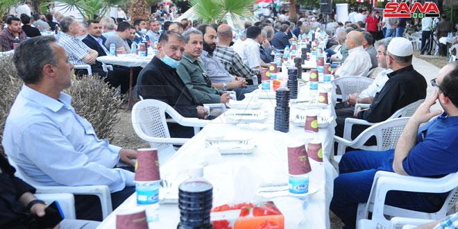 أهالي منطقة التل: المشاركة في الانتخابات الرئاسية تأكيد على العزم لإعادة إعمار الوطن
