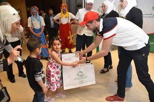 بنك سورية الدولي الإسلامي يقيم مادبة إفطار لأطفال SOS