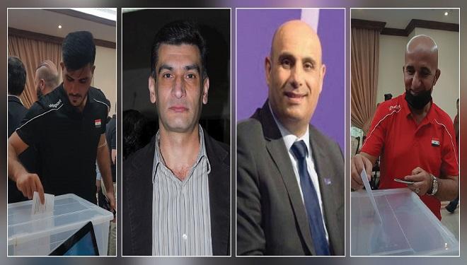 الرياضيون يؤيدون انتخاب السيد الرئيس #بشار_الأسد وفاء لتضحياته الكبيرة