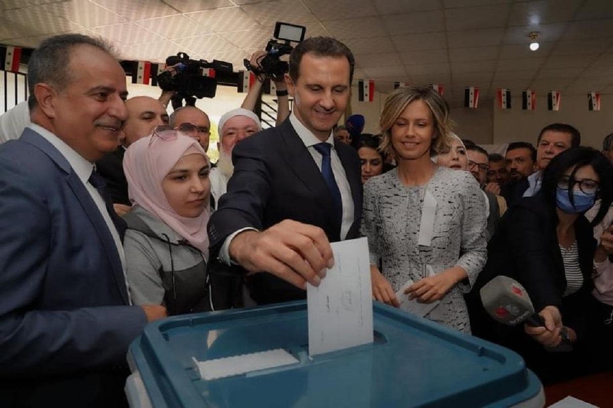 #سورية_تنتخب