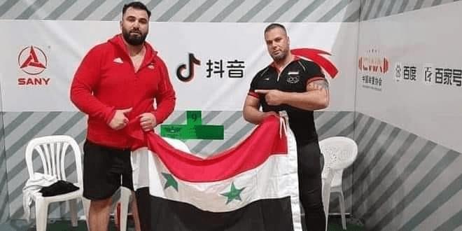 """لاعب منتخب سوريا لرفع الأثقال معن أسعد يتأهل إلى أولمبياد """"طوكيو"""""""