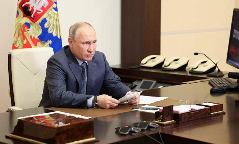 بوتين: سأناقش مع بايدن الوضع في سورية