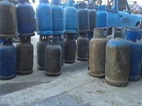 مشروع للتأمين على أسطوانات الغاز المنزلية ببدل 100 ليرة