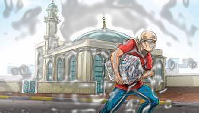سرقة مساجد في حلب ………